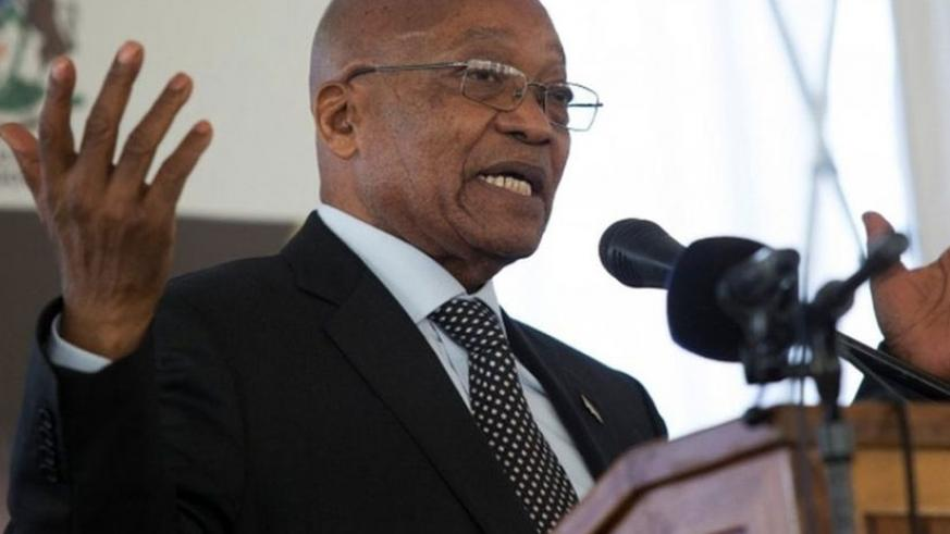 Opposition parties have been pushing for a secret ballot so as to encourage ANC MPs to vote with the opposition to remove President Zuma from office. (Net photo)