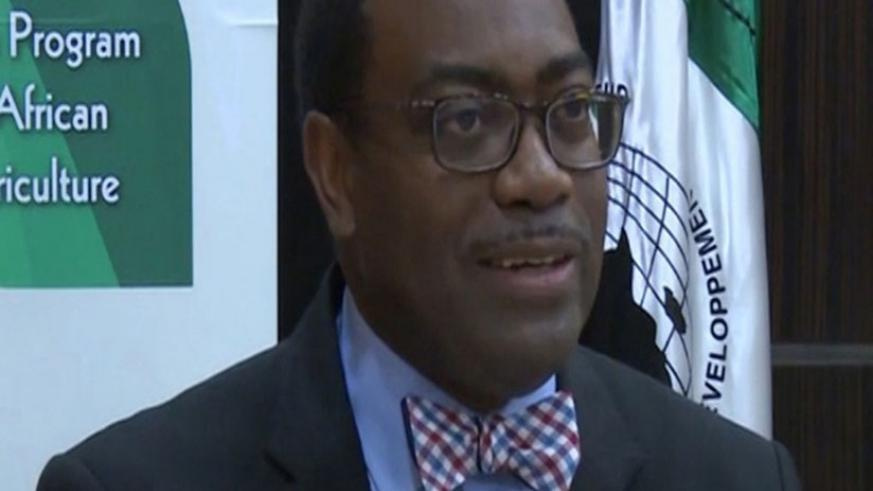 Akinwumi Adesina, the AfDB chief executive.