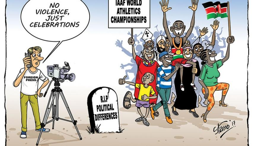 Foreign media who were expecting violence to erupt after the Kenyan 2017 elections ended up covering celebrations by the Kenyan athletics team which finished second in the IAAF Wor....