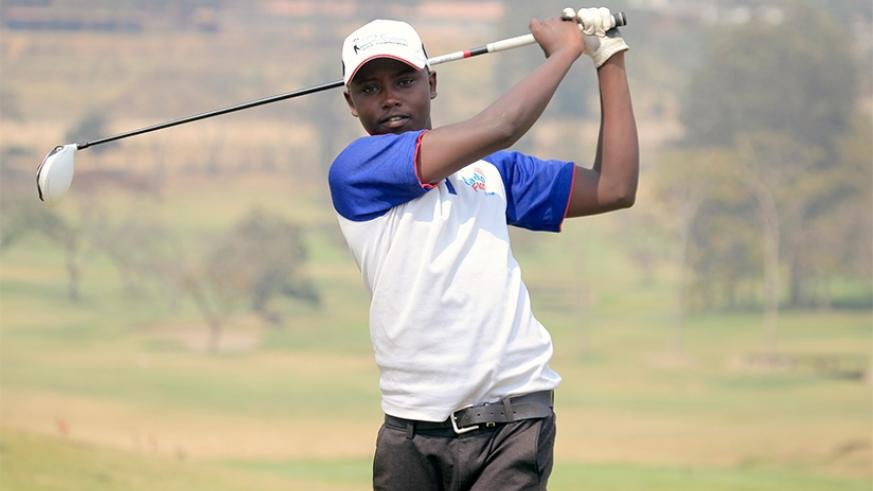 Rwanda number one amateur golf player Aloys Nsabimana defeated Ethiopia's Aklilu in the first round on Thursday. / File