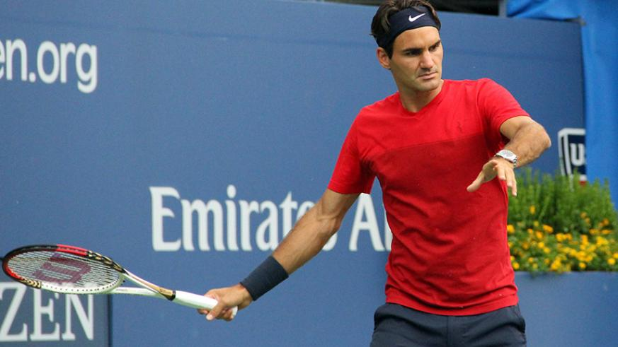 Federer will open up his campaign against American Frances Tiafoe and could face the dangerous Nick Kyrgios as early as the fourth round. / Internet photo