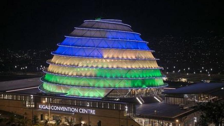 Kigali Convention Centre is one of the landmark features in Kigali. It is because of stability that such developments are thriving. Net photo