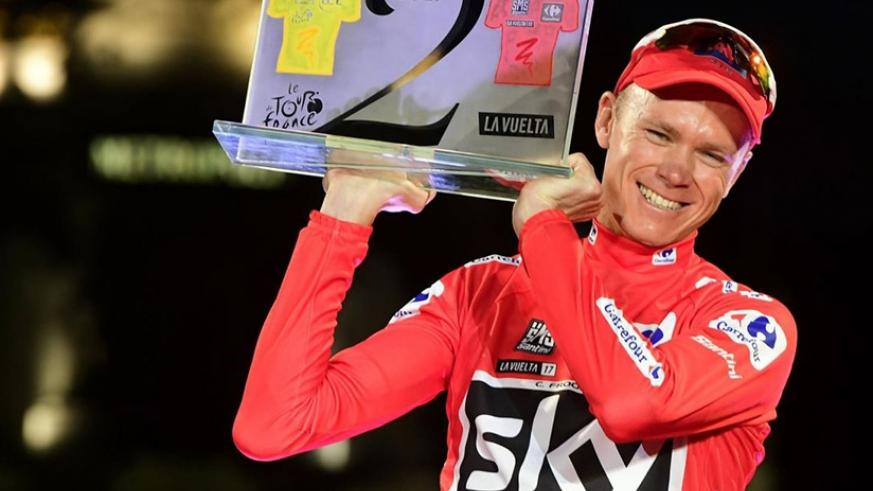Chris Froome clinches historic Vuelta title as Matteo Trentin wins final stage on Sunday. (Net photo)