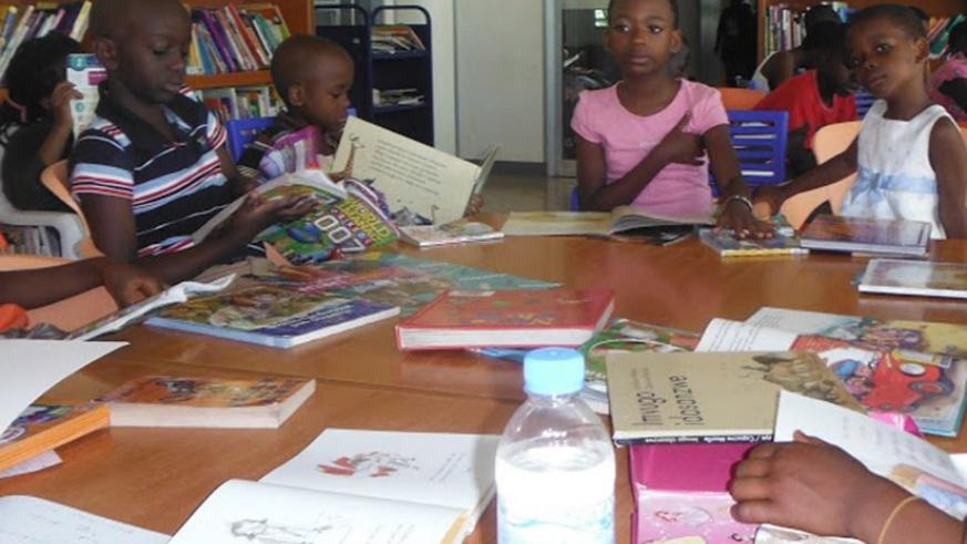 Reading books helps you to gain more knowledge and skills.   (Dennis Agaba)