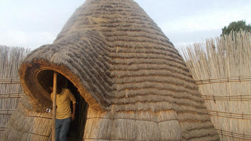 A hut at Ikirenga Cultural Centre. / Marie-Anne Dushimimana
