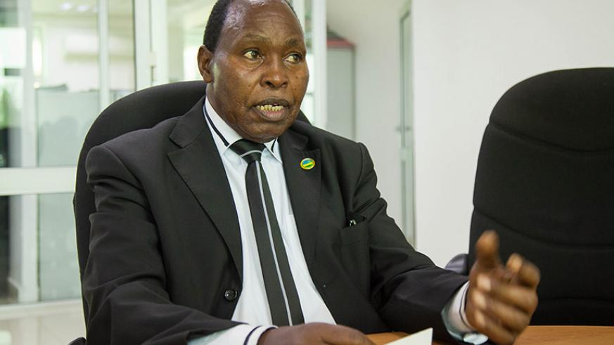 Boniface Rucagu, a member of the National Elders Forum, during an interview with this newspaper on Thursday. In the exclusive interview, the former chairperson of the National Itor....