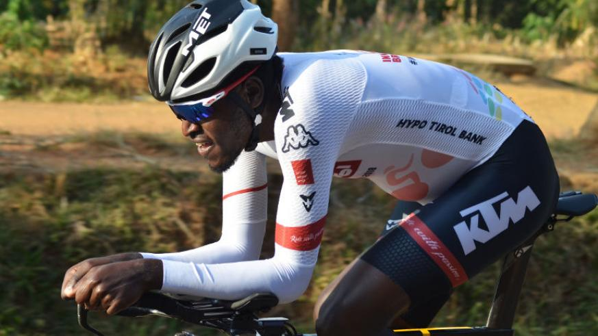 Two-time Tour du Rwanda winner and reigning champion Ndayisenga is among only three African riders to be part of the competition's ITT. / Sam Ngendahimana
