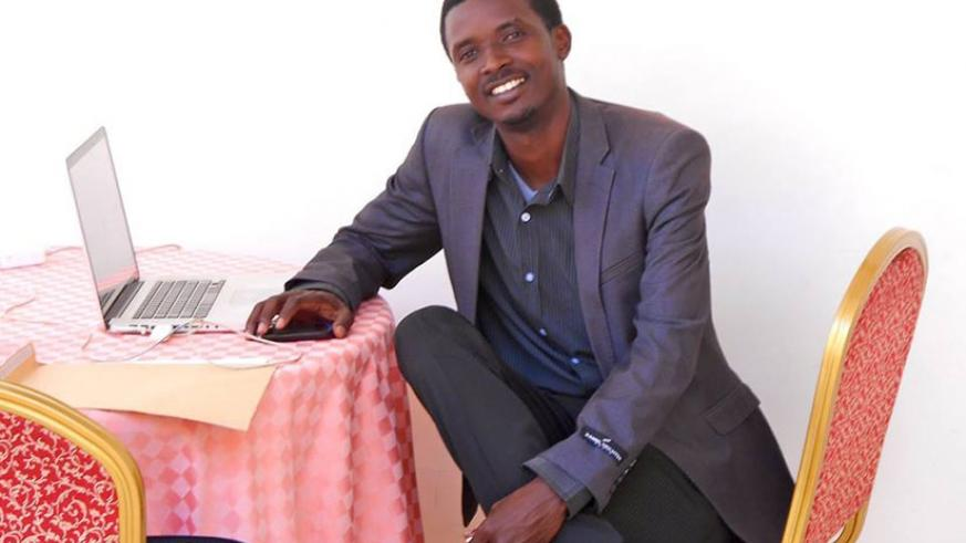 Celestin Ntawirema is the founder of Rwanda Cultural Fashion Show. File.