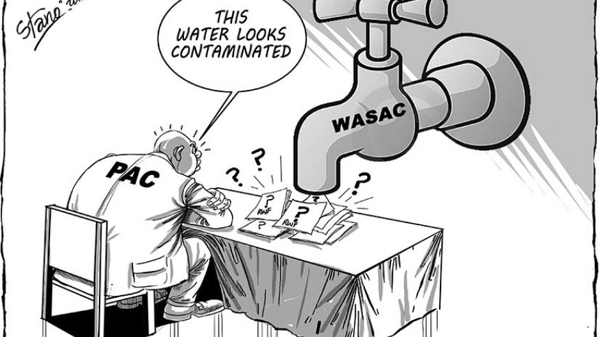 Officials from the Water and Sanitation Corporation (WASAC) were Monday grilled by the Parliament's Public Accounts Committee (PAC) over gross inaccuracies in financial statement....