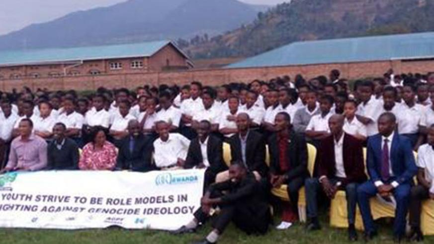 Members of  Imbonizarwo association say they are committed to the fight against Genocide. File.