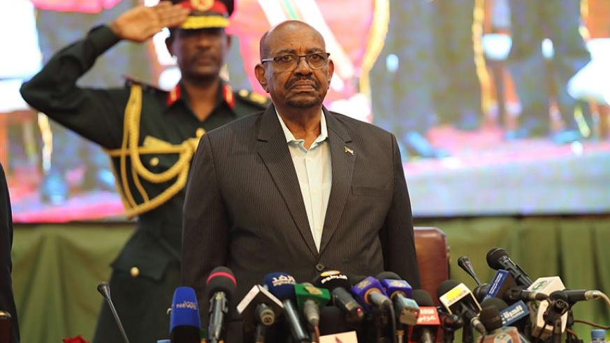 Field Marshall President of the Republic Omar al-Bashir during the Playing of the Sudan National Anthem at the Opening Ceremony of the 14th Ordinary Session of CISSA Conference in ....