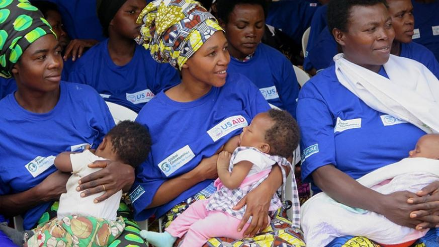 The current maternity leave benefits scheme allows working mothers to attend to their children uninterrupted for the first three months. (File photo)