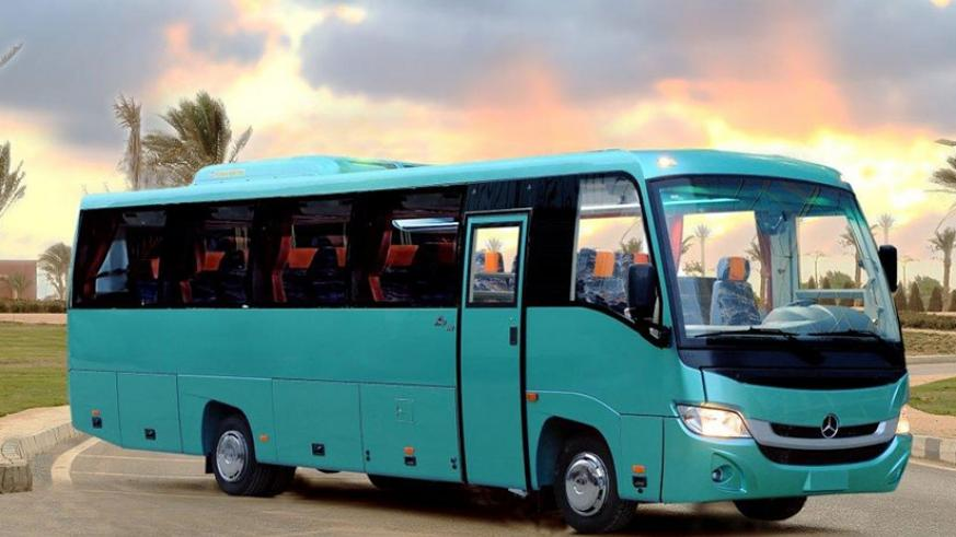 One of the MCV buses distributed by Akagera Motors. The buses provide for comfort and luxury travel.  (Courtesy)