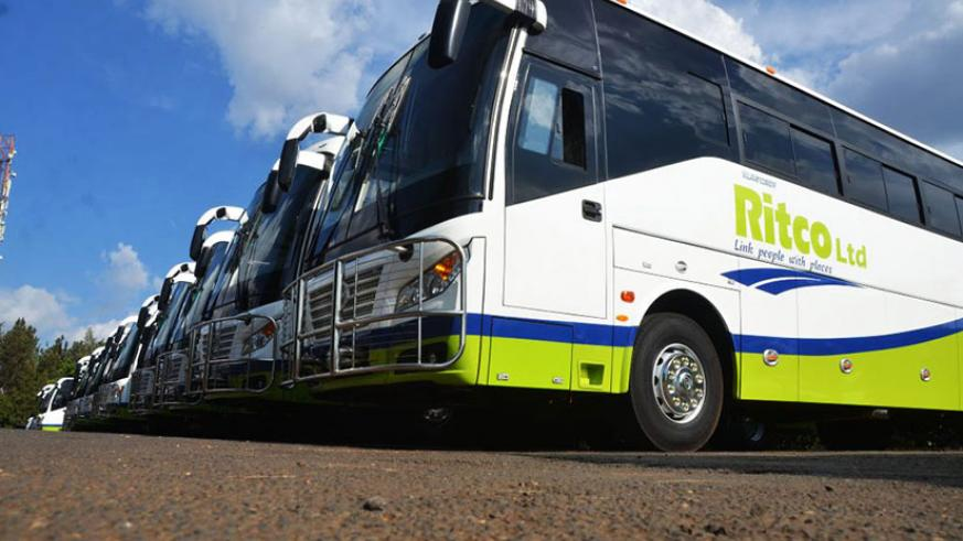 RITCO buses at their unveiling in February. / File