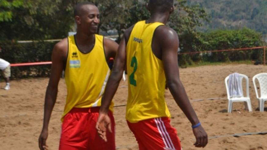 Oliver Ntagengwa and Patrick Kavalo won the Beach Volleyball Circuit title for third year in a row.