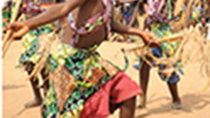 Traditional dancing:  Cultural traditions, like dancing, are important! We should all protect our culture and share it with others.  (UNICEF Rwanda/2017/Mugabe)