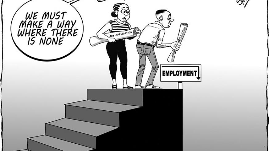 Rwanda's unemployment rate stands at 16.7 per cent, according to the latest statistics from the National Institute Statistics of Rwanda released Monday.