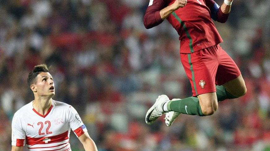 The victory in Lisbon ensures Cristiano Ronaldo and Co are assured of a place at next year's World Cup finals in Russia. / Internet photo