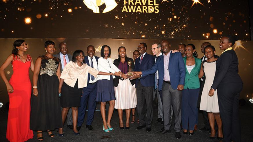 At the gala, Rwanda emerged Africa's Leading Destination for 2017. Courtesy