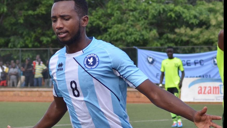 Mico opened his league account scoring the second goal in Police FC's 2-1 win over Mukura on Friday. File.