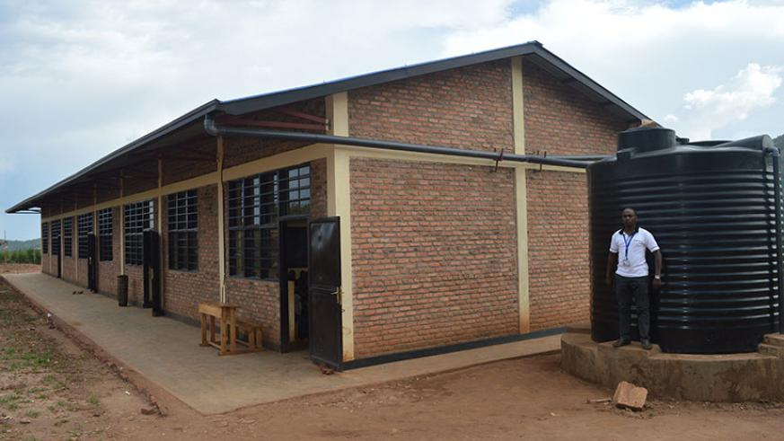 Some of the class rooms that were built by FH in Nyagihanga sector. All photos by Joseph Mudingu