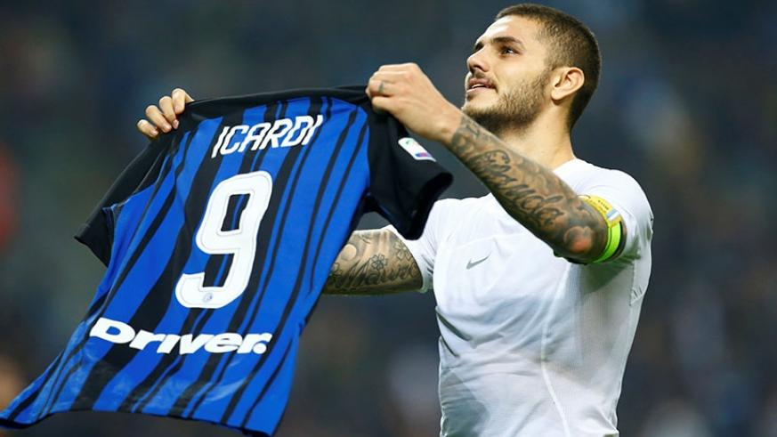 Skipper Mauro Icardi strikes late after controversial penalty completes hat trick and fires Inter past bitter rivals. Net photo