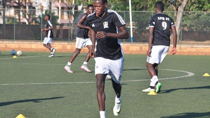 Ombalenga in a past training session. (File)