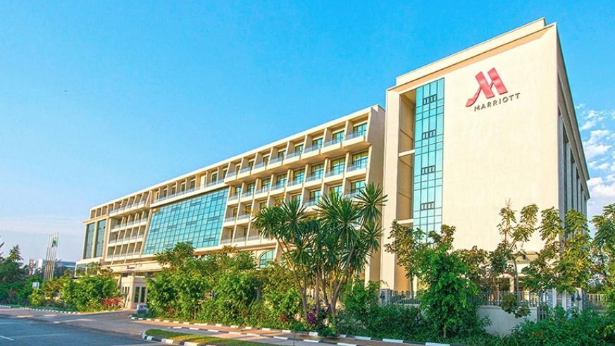 The Marriott Hotel in downtown Kigali is one of those that have reported returns. (Net)