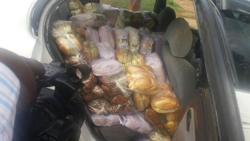 Havugiyaremye was intercepted in Nyarutarama with bread packaged in plastic bags.  Janvier Nshimyumukiza.