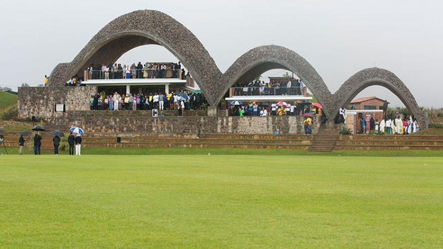 A view of the pavilion of Gahanga Cricket Stadium. President Paul Kagame officially inaugurated it on Saturday. INSET: Alby Shale came up with the idea of setting up the Cricket St....