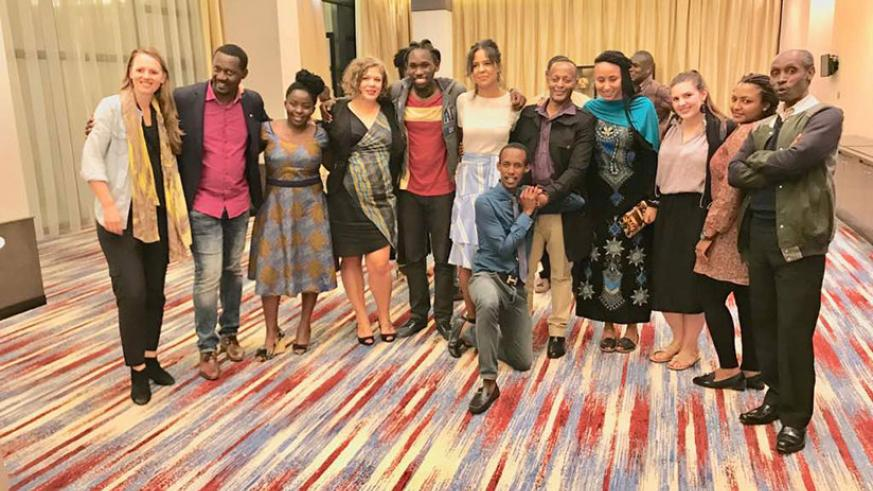 RFF crew poses for a group photo after a successful closing night. / Courtesy