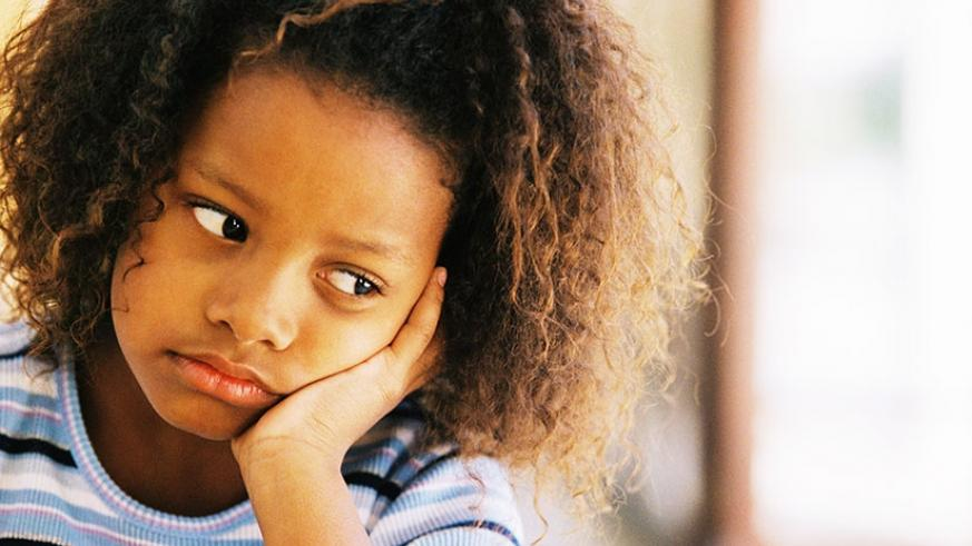 A child who is bullied at school will tend to become anti-social or suffer depression if not helped early. (Net photo)