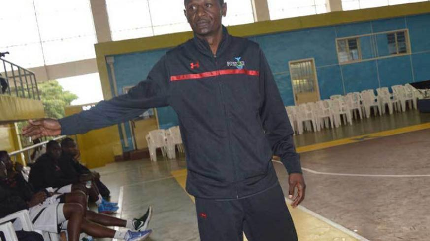 Former Patriots head coach Cyrille Kalima has been tasked to guide REG to 2018 FIBA Africa Zone V club tourney victory. (Courtesy)
