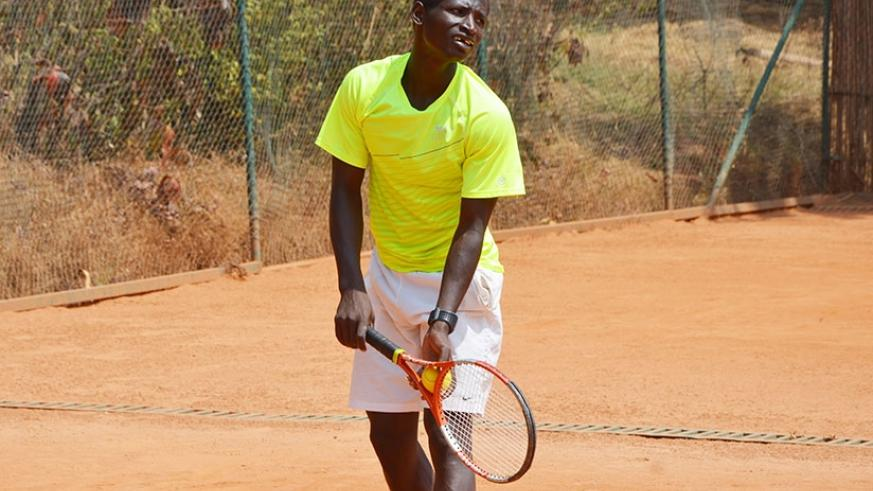 Rwandan Tennis star Ernest Habiyambere was eliminated in group stages. (File)