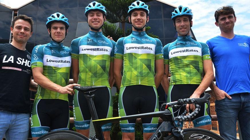 Canadian team LowestRates cycling team will be among many teams that will participate in Tour du Rwanda 2017. (Sam Ngendahimana)