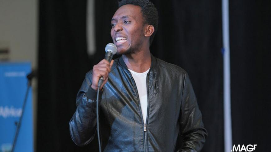Comedian Arthur took part in the comedy festival.