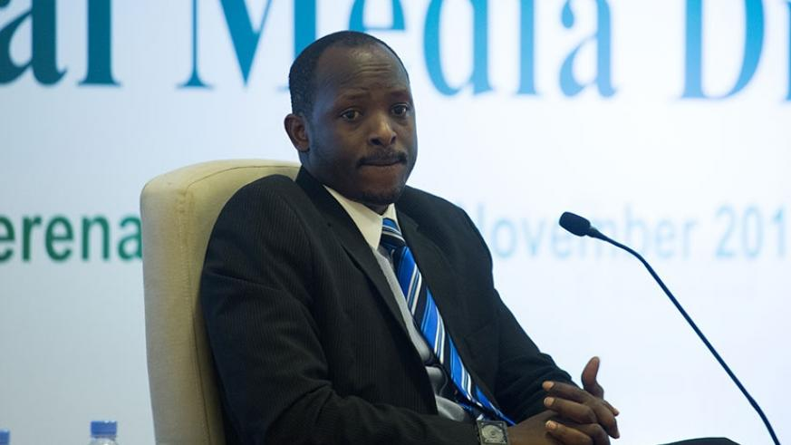 Kayumba said uptake of digital technology is not the main concern though it exacerbates the challenges faced by local traditional media. (Timothy Kisambira)
