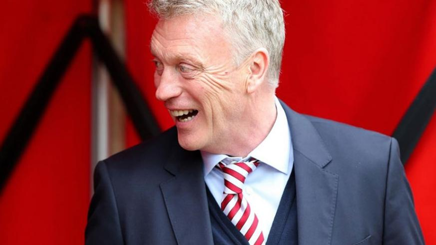 David Moyes has been appointed as West Ham manager following the dismissal of Slaven Bilic. Net photo