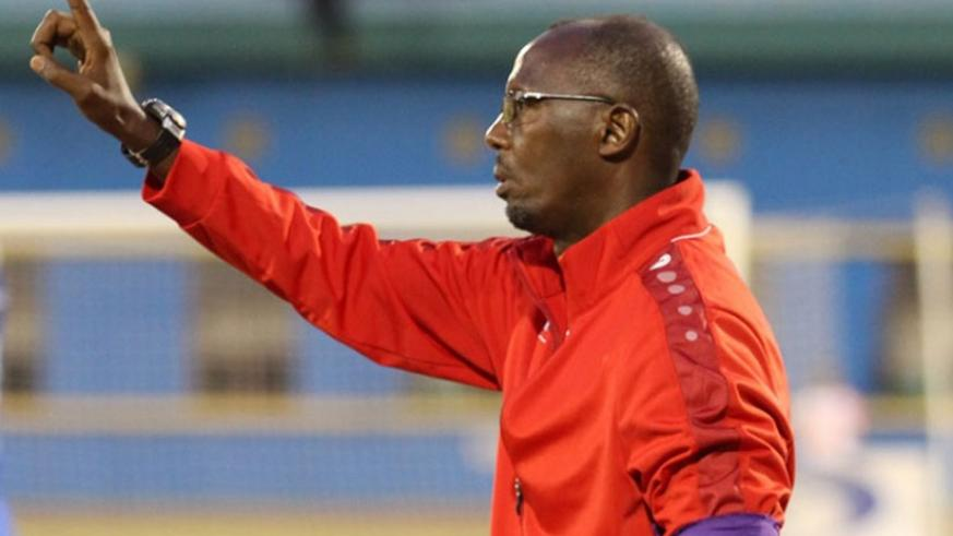 AS Kigali head coach Eric Nshimiyimana says the international break will not affect his players. File.