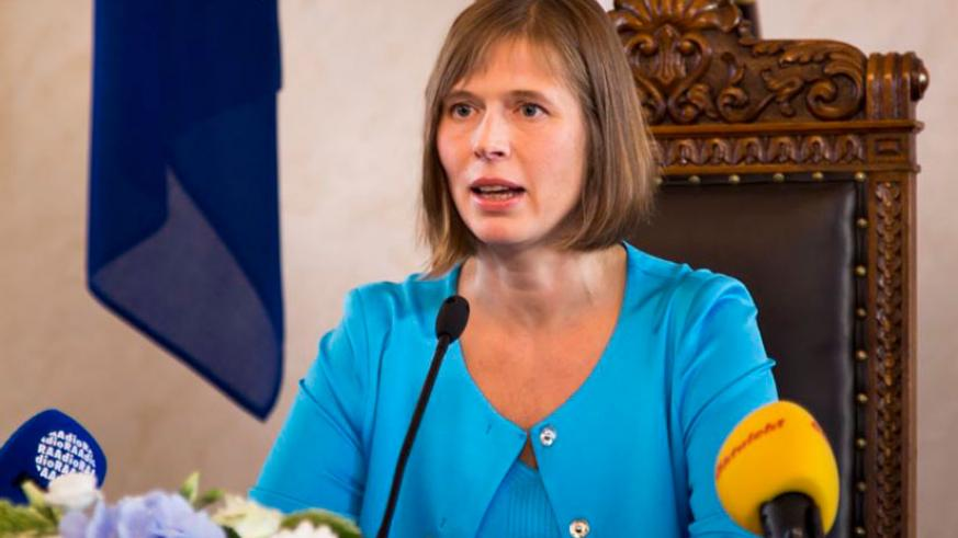 President Kaljulaid is expected in the country today. / Courtesy