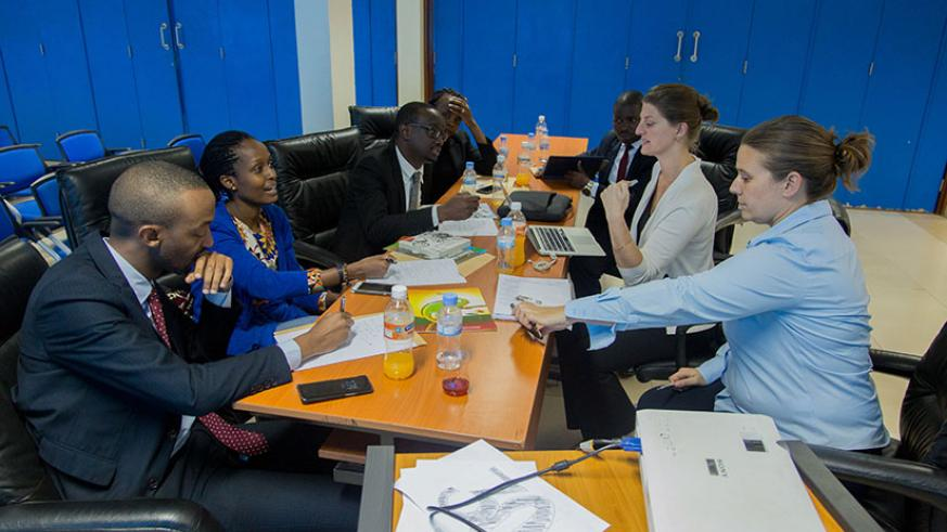 A panel of judges that will select the winners to be announced in December. Faustin Niyigena.
