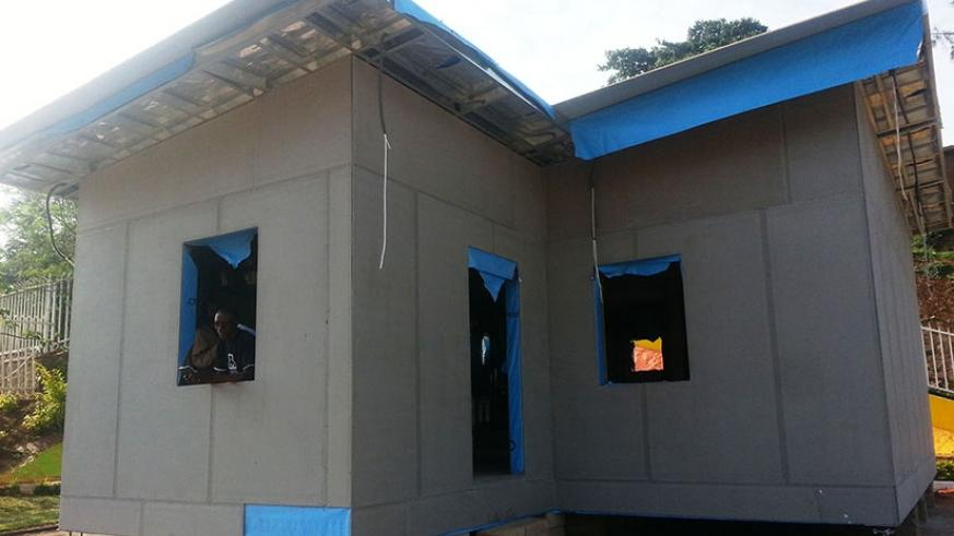 This low-cost house  made by STRAWTEC from prefabricated materials could be one of the attractions at the annual  Made-in-Rwanda expo. The firm uses rice and maize stalks to make ....