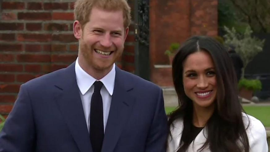 Prince Harry and Meghan Markle engagement was announced Monday. (Net photo)