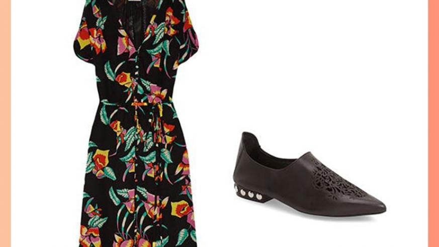 Wearing loafers on denim jeans or a floral dress gives you a sophisticated look. Net photos