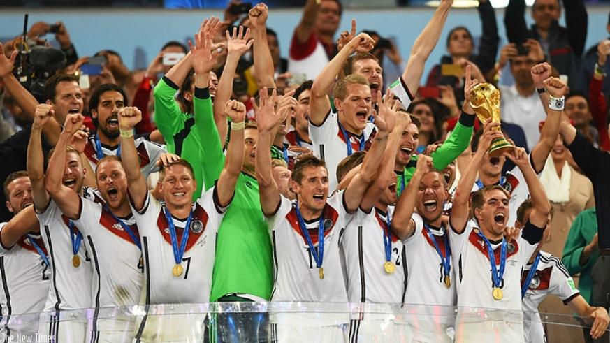 World champions Germany expect nothing less than a fifth World Cup triumph in Russia next year. (Net photo)