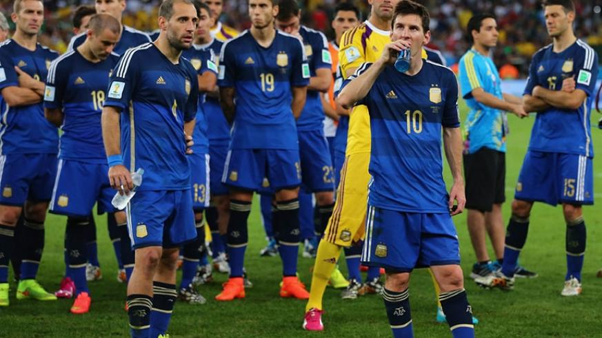 Lionel Messi and Argentina went down to an extra-time goal against Germany in the showpiece match at the Maracana in 2014. (Net photo)