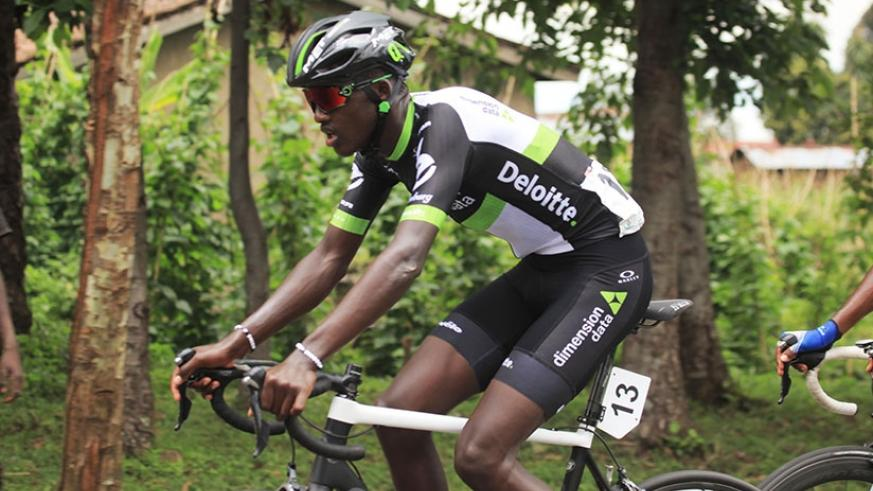 Racing for the first time after the  loss of his mother last month, Samuel Mugisha (Team Dimension Data) won the longest race of the 2017 Rwanda Cycling Cup. Sam Ngendahimana