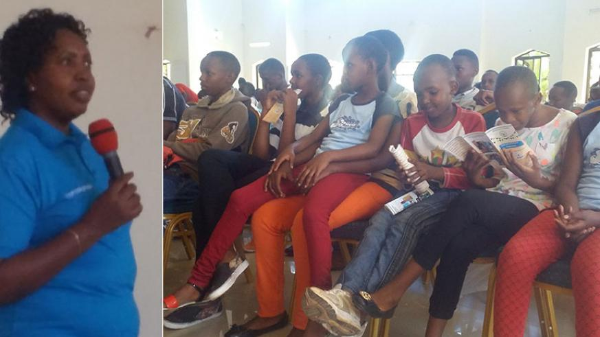 Deputy Ombudsman Yankurije Odette says it is paramount that children know the dangers of corruption and encouraged children to report whenever they see someone giving or receiving ....