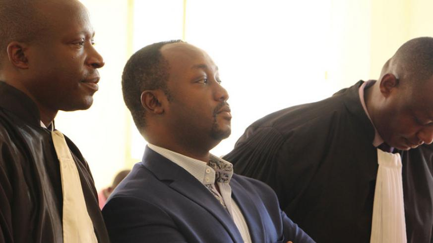 Evode Imena during a previous court hearing. / Courtesy
