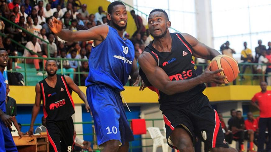 Olivier Shyaka (left), and Bienvenu Ngandu, who played together in Espoir before the latter joined REG last season. The Rwanda international teammates will team-up again at the lea....